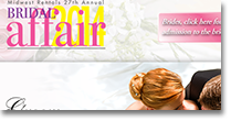 Midwest Bridal Affair Web Site Design