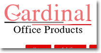 Cardinal Office Solutions Web Site Design