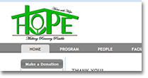 Home With Hope Web Site Design