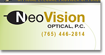 Neo Vision Optical Web Site Design