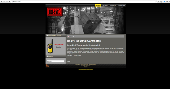 Tri Esco Web Site Design