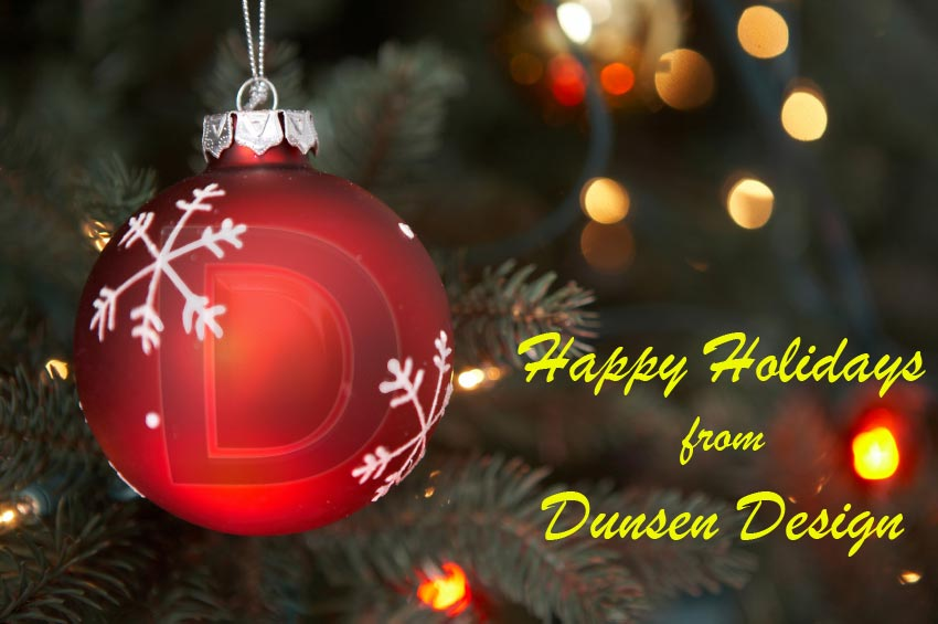 Happy Holidays from Dunsen Design