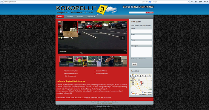 Kokopelli Asphalt Maintenance